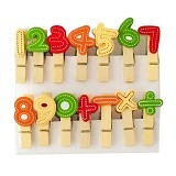 KLAUS Wooden Clip Number - Photo Display / Frame