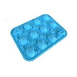 CETAKAN JELLY Singing Frog - Cetakan Es / Ice Tray