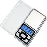 CALLIASTORE Mini Digital Pocket Scale - Silver