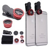 NEWTECH Universal Clip Lens Fish Eye 3in1 (Merchant) - Gadget Activity Device