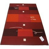 HAO CARPET Karpet [MO-721] - Red - Karpet Kecil