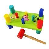 MAINAN EDUKA Palu Kayu 4 Pasak - Wooden Toy