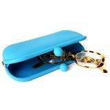 LTISHOP Tempat Kaca Mata/Aksesoris [DS060] - Biru Muda - Tempat Kacamata Wanita
