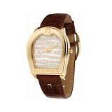 AIGNER Strap Leather Verona [A48321] - Brown - Jam Tangan Wanita Casual