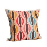 OLC Bantal Sofa Motif Animation In Curly Color [Q1994] - Bantal Dekorasi
