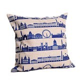 OLC Bantal Sofa Motif City In Country [Q2885] - Bantal Dekorasi