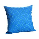 OLC Bantal Sofa Motif Art In Blue [Q2899] - Bantal Dekorasi