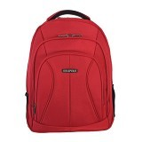 REAL POLO Ransel Laptop [5763] - Red - Notebook Backpack
