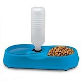 SKY88SHOP FinePet Pet Feeder Cat and Dog - Blue (Merchant) - Wadah Makanan Anjing