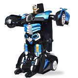 SKY88SHOP Radio Remote Control Transformer Vehicle Car Deform Robot [TT663] - Blue (Merchant) - Car Remote Control