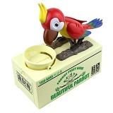 SKY88SHOP Tori Bako Parrot Piggy Bank - Red (Merchant) - Mainan Simulasi