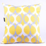 SLEEP BUDDY Cushion - Geometric Yellow - Bantal Dekorasi