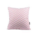 SLEEP BUDDY Cushion - Pink Chevron - Bantal Dekorasi