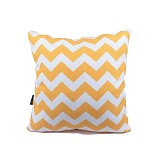 SLEEP BUDDY Cushion - Strong Chevron Yellow - Bantal Dekorasi