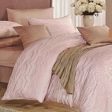 SLEEP BUDDY King Size Bed Sheet Sutra Tencel - Oceanic Light Purple - Kasur