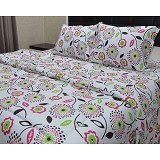 SLEEP BUDDY King Size Selimut Flowerfull - Seprai & Handuk