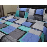 SLEEP BUDDY King Size Selimut Quadratic - Seprai & Handuk