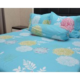 SLEEP BUDDY Single Size Bed Sheet Katun Morning - Kasur