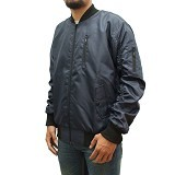 SLEEPWALKING Jaket Bomber Size L - Blue (Merchant)