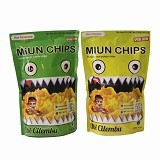 SMESCO TRADE Paket Miun Chips Honey Sweet Potato Chips [880-043312] - Hot Seaweed & Hot Cheese - Keripik Talas, Ubi & Singkong