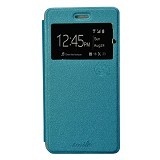 SMILE Flip Cover Case Asus Zenfone 2 Laser ZE550KL - Light Blue (Merchant) - Casing Handphone / Case