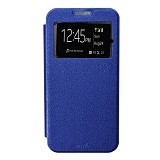 SMILE Flip Cover Case Vivo Y35 - Dark Blue (Merchant) - Casing Handphone / Case