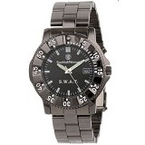 SMITH & WESSON Strap Stainless Steel [SWW-45M] - Black Metal - Jam Tangan Pria Sport