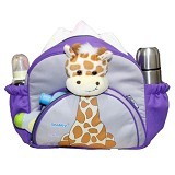 SNOBBY Tas Bayi Medium Saku Apl Boneka Girrafe Series [TPT 1576-2] - Purple