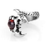 SOHO Cincin Scorpion Red Stone Size 10 (Merchant) - Cincin Pria