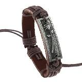 SOHO Gelang Kulit Motif Bunga (Merchant) - Gelang / Bracelet