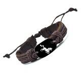 SOHO Gelang Kulit Motif Kuda (Merchant) - Gelang / Bracelet