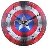 SOHO Jam Dinding Kayu Captain America