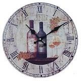 SOHO Jam Dinding Kayu Wine - Jam Dinding