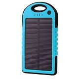 SOLAR Powerbank 5000mAh [E5000] - Blue (Merchant)