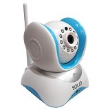 SOLID IP Camera Robot 960P 1.3MP [IP960P] - Black (Merchant) - Cctv Camera
