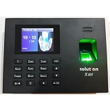 SOLUTION Mesin Absensi [X105-ID] - Mesin Absensi Digital Standalone
