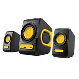 SONICGEAR Quatro V - Yellow (Merchant) - Speaker Computer Basic 2.1