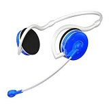 SONICGEAR XBS 330 - Metallic Blue - Headset Pc / Voip / Live Chat