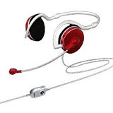 SONICGEAR XBS 330 - Metallic Red - Headset Pc / Voip / Live Chat
