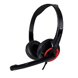 SONICGEAR Xenon 2 - Festive Red - Headset Pc / Voip / Live Chat