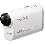 SONY Action Cam FDR-X1000V - White - Camcorder / Handycam Flash Memory