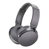 SONY Bluetooth Headphone Extra Bass [MDR-XB950BT] - Grey (Merchant) - Headset Bluetooth