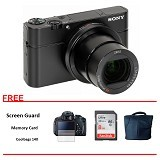 SONY Cybershot DSC-RX100 IV Original Paket (Merchant) - Camera Pocket / Point and Shot