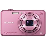 SONY Cybershot DSC-WX220/PC - Pink (Merchant) - Camera Pocket / Point and Shot