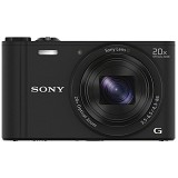 SONY Cybershot DSC-WX350/BC - Black - Camera Pocket / Point and Shot