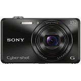 SONY Cybershot Digital Camera DSC-WX220 - Black (Merchant) - Camera Pocket / Point and Shot