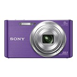 SONY Cybershot DSC-W830/VC - Violet - Camera Pocket / Point and Shot