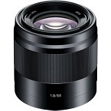 SONY E 50mm F1.8 OSS - Black (Merchant) - Camera Mirrorless Lens
