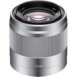 SONY E 50mm F1.8 OSS - Silver (Merchant) - Camera Mirrorless Lens