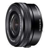 SONY E PZ 16-50mm F3.5-5.6 OSS [SELP1650] - Black - Camera Mirrorless Lens